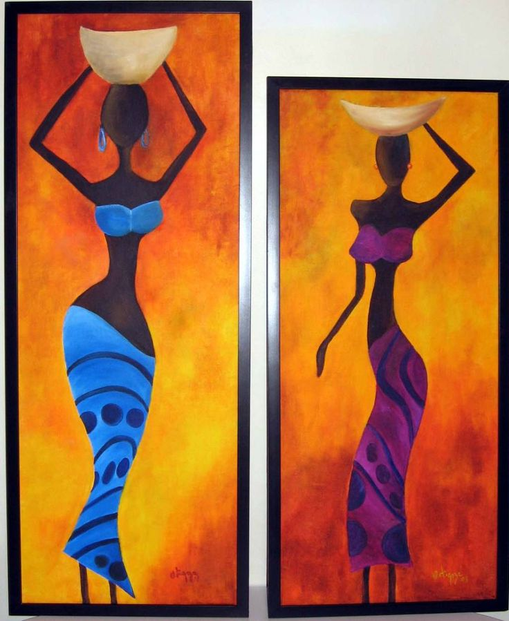 17 mejores ideas sobre cuadros africanos en pinterest - Cuadros para principiantes ...