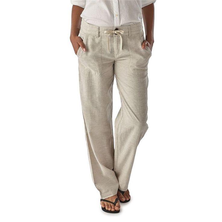 W's Island Hemp Pants - Regular,