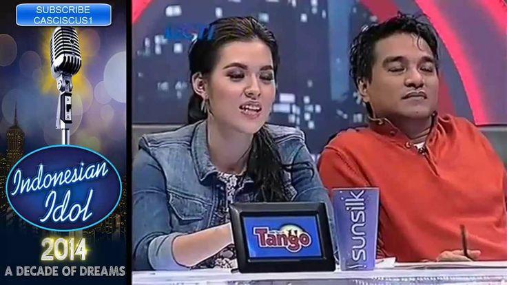 Afra Sugianto - Audisi Jogja - Indonesian Idol 2014 - Roman Picisan (+pl...