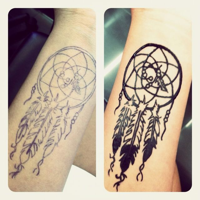 Henna Dreamcatcher Tattoo And The Awesome Dream Catcher Tattoo