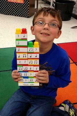 Mrs. King's Music Room: Build a Rhythm Blocks.  Great way to reinforce note values and encourage composition!