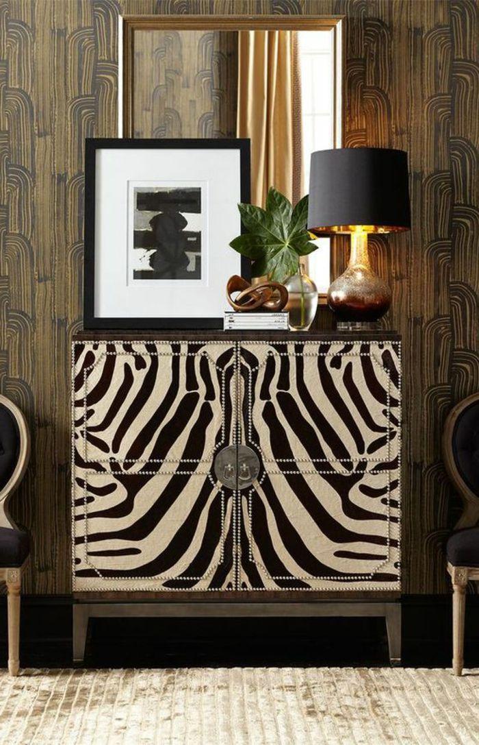 Les 25 meilleures id es de la cat gorie chaise z bre sur for Deco murale zebre