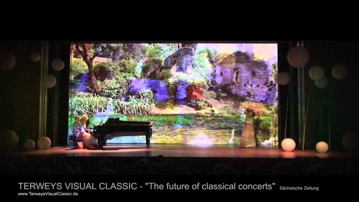 Are you waiting for #spring?  Further info: http://www.TerweysVisualClassic.de   #classicalbuzz #music #brahms #violin #piano #nature #stageset #lighting #visual #video #projection #classical #art #animation #terweysvisualclassic