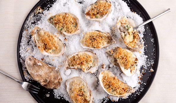 Stefano's Oysters Rockefeller