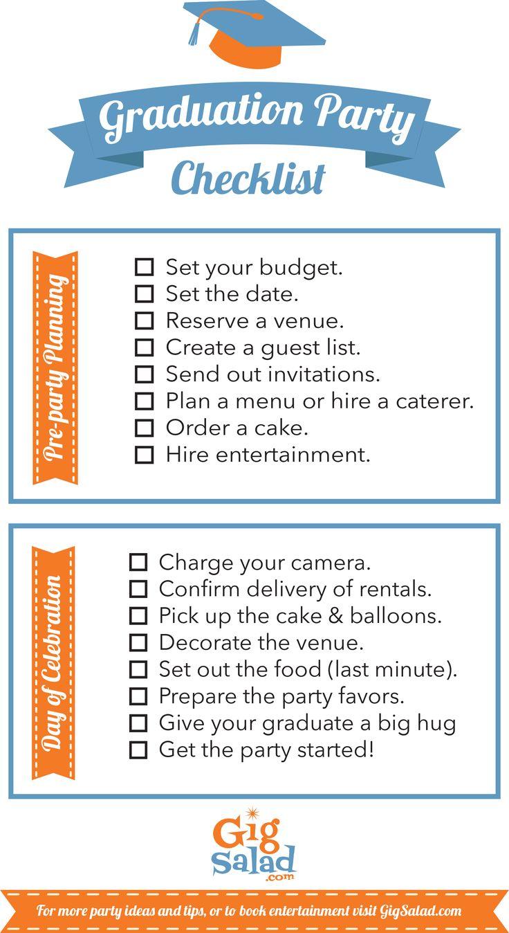 print our free graduation party checklist