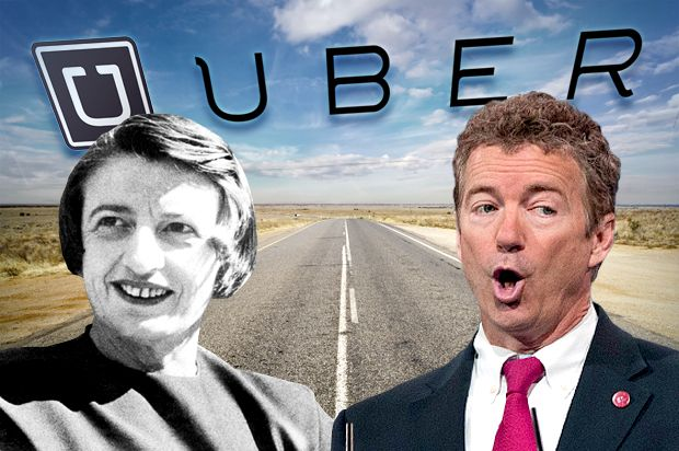 The sharing economy is a lie: Uber, Ayn Rand and the truth about tech and libertarians - SALON #Uber, #Economy, #Tech