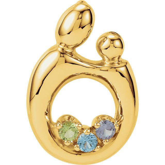 Necklace mother and child/ Prívesok matka s dieťatkom  #necklace #jewelry #jewellery #sperk #mother #child #gemstones #gemstone #gold #valentine #valentinesday