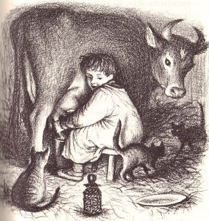 Garth Williams: Almanzo, Farmer Boy | Works by Great Illustrators ...