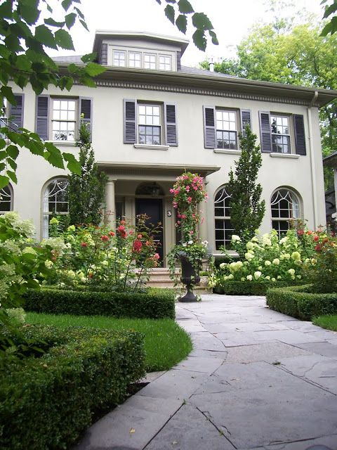 Landscaping around front entrance: Curb appeal ;)                              …