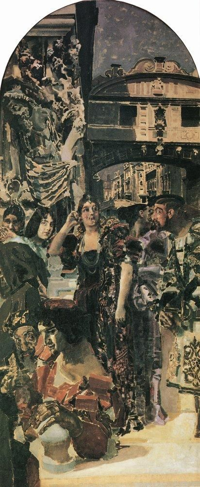 Мир Врубеля. Венеция. 1893