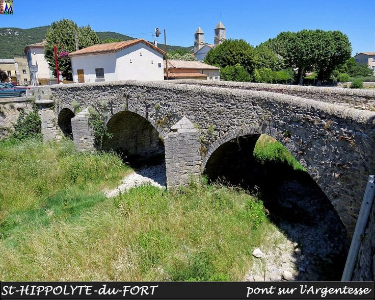 St HIPPOLYTE-DU-FORT le pont
