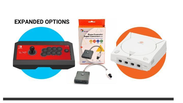 More Dreamcast Controller Options Brook Ps3 Ps4 To Dreamcast Super Converter 39 99 If You Are Familiar With The Brook Series You Know They Make The Highest Q