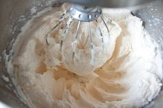 Whipped Icing ( Kroger ) 5 Tbsp. flour 1 cup milk 1/2 cup vegetable shorting 1/2 cup butter 1/2 cup sugar 1tsp. vanilla Directions Using a hand mixer cook the flour and milk together until thick. Remove from the heat and cool. Cream together shorting, butter and sugar thoughly; light and fluffy in appearance. Add to the cooled mixture and beat until thick and creamy. Add vanilla.