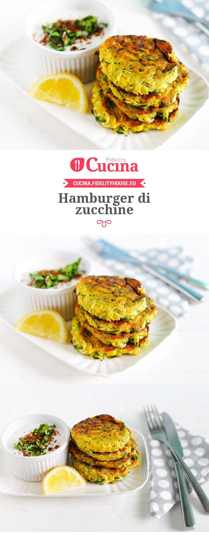 Hamburger di zucchine