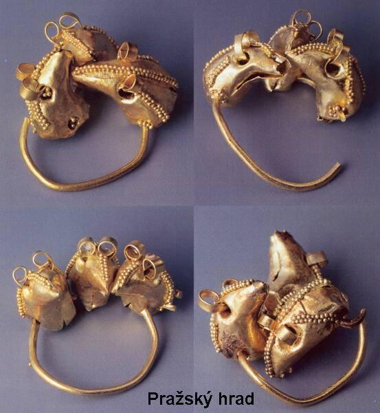 West Slavic jewellery - Great Moravia (Czech Republic)