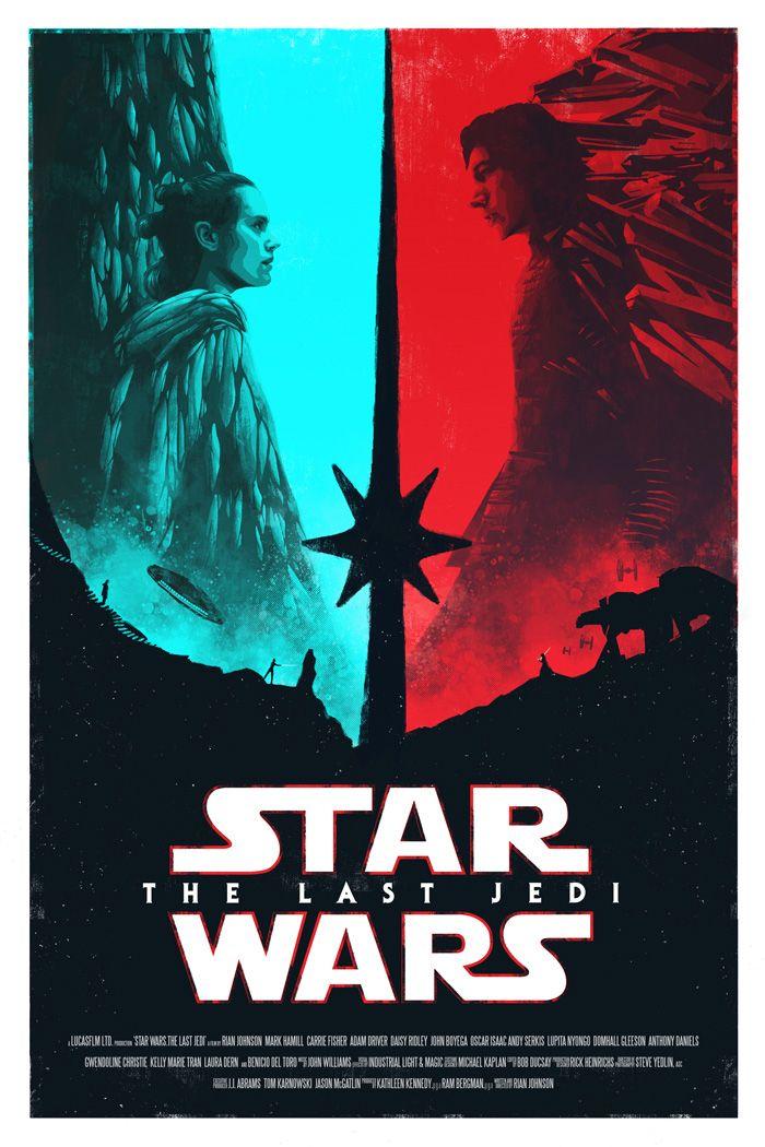 Star Wars The Last Jedi By Bella Grace Star Wars Poster Star Wars Episodes Star Wars Wallpaper