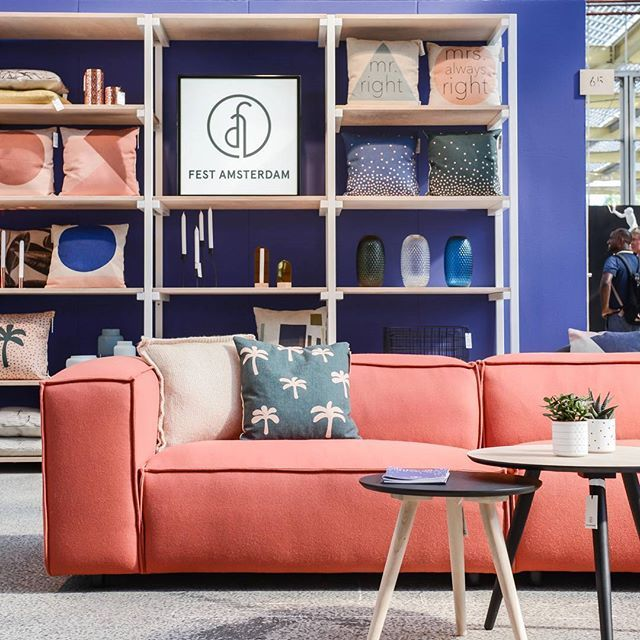 A throwback to September 2015 when we showed our sofa Dunbar in this great #kvadrat fabric at @showup_event! Next week we will be there again to show our new collection! See you there? #tbt  #showup #festamsterdam #interiorinspiration #homedecor #cantwait #comingsoon #interiordesign #awesome  Photo by: @bintihome