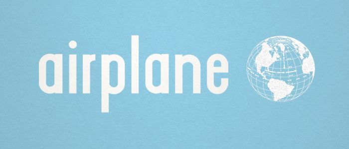 Airplane  A RETRO LOWERCASE  Airplane was inspired by the famous jet era of the 60's.    Designed by Kady Jesko  www.kadyje.com    Designer hailing from Michigan. At Lost Type Coop.
