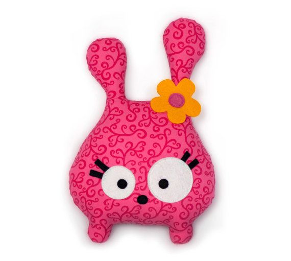 Tumsy the Bunny sewing pattern stuffed animal by DIYFluffies                                                                                                                                                                                 Mais