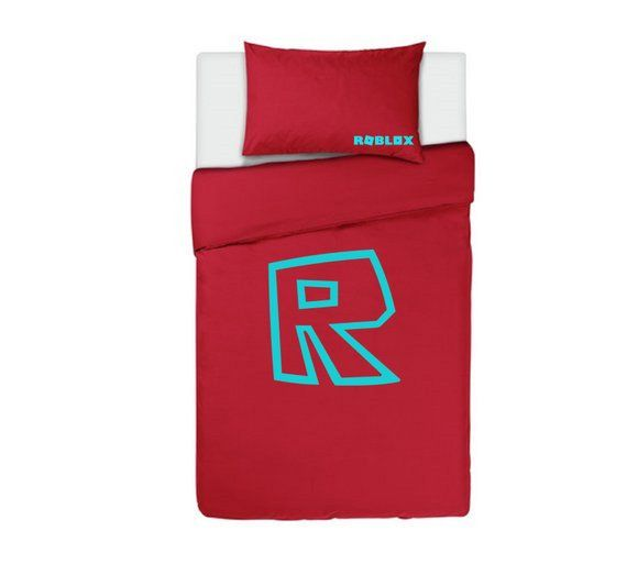 Roblox Logo Duvet Cover Bedding Set Single Etsy Bed Covers