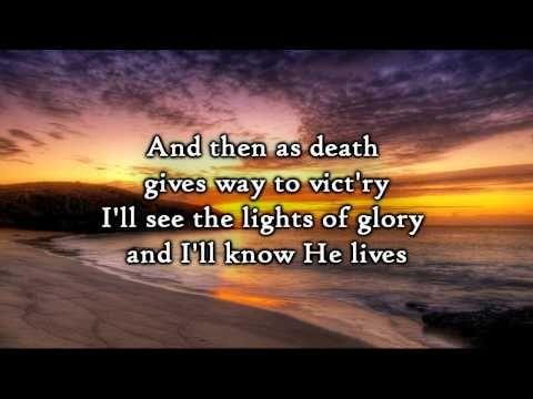 David Crowder Band - Because He Lives (Lyrics)