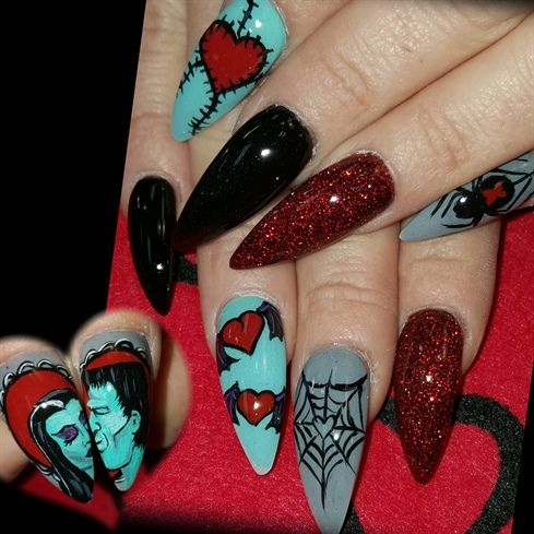 Munster love by Oli123 from Nail Art Gallery