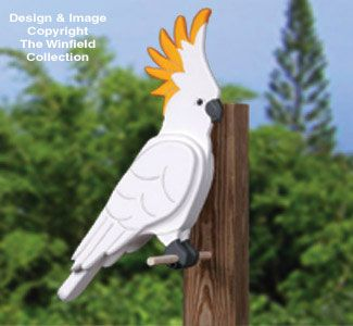 * 3D Cockatoo. Flat feet like blue bird or curved ? X