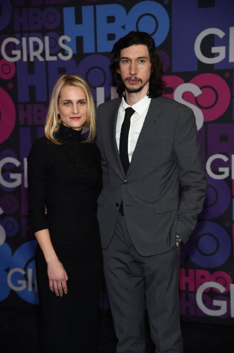 Adam Driver and Joanne Tucker at event of Girls (2012)