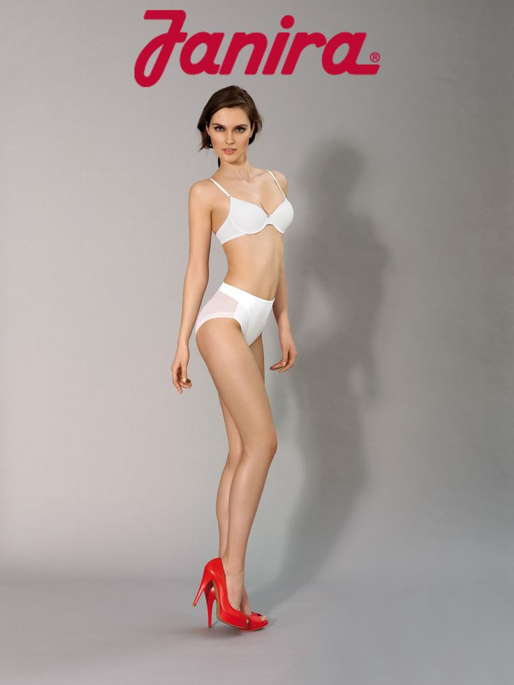The JANIRA Vientre PLANO! The almost impossible panty! Control in the front but sheer and invisible in the back!