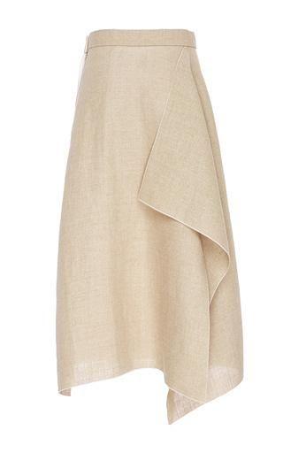 Linen Skirt by Maison Rabih Kayrouz for Preorder on Moda Operandi