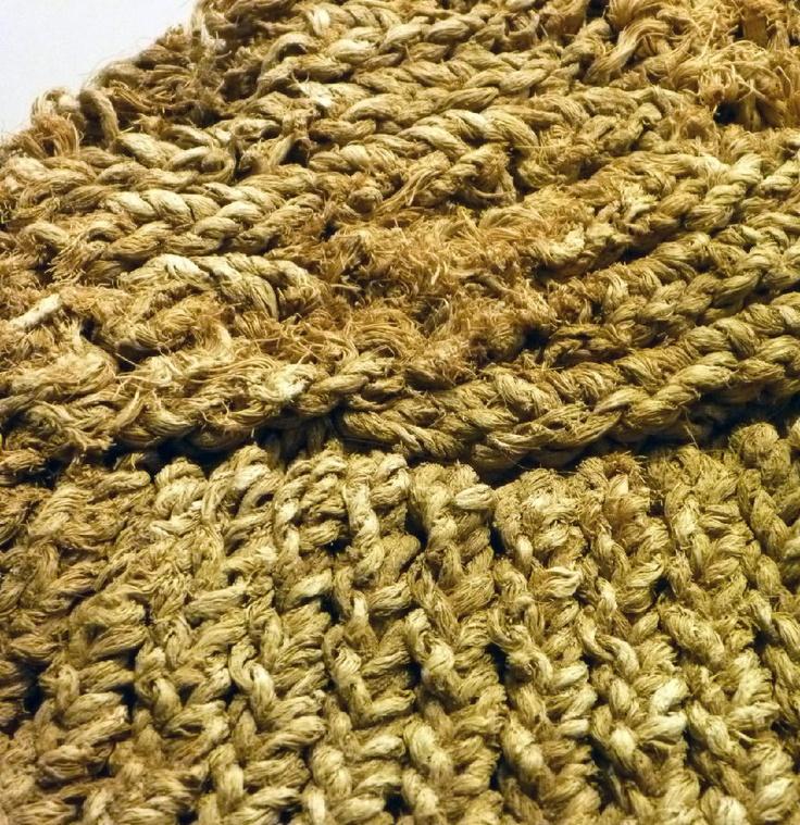 Fragmeto de tejido Muisca-Guane.  tejido precolombino.