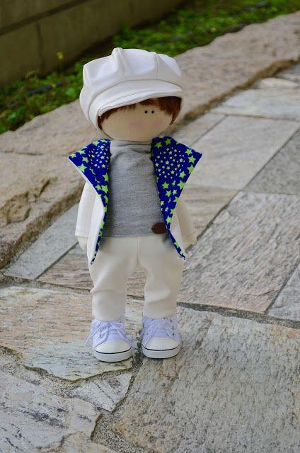 Elena Take hobby: модный мальчик в белом