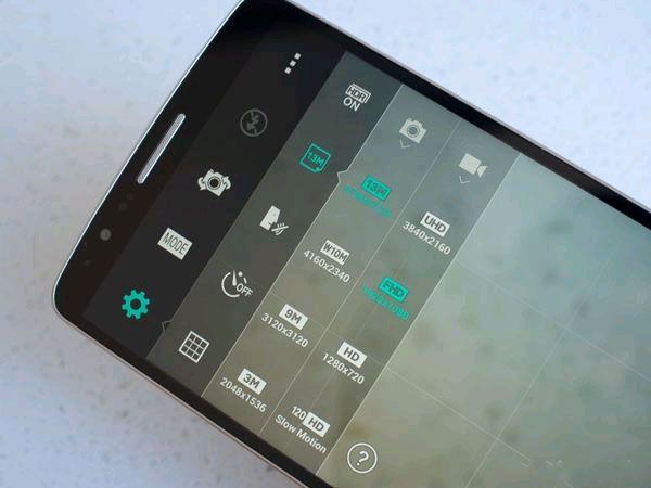 8 thủ thuật để sử dụng tốt nhất camera của G3 - Ảnh 3: Tùy chỉnh thiết lập trên LG G3