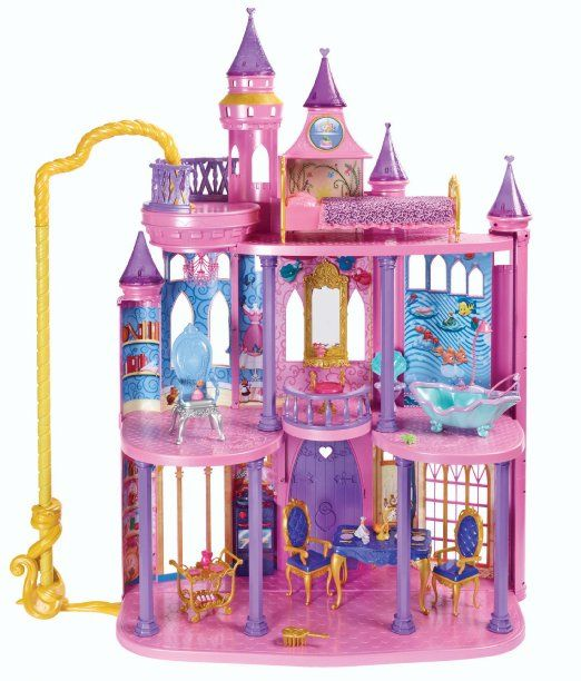 Disney Princess Ultimate Dream Castle: Toys & Games Oh how my little one would LOVE this!