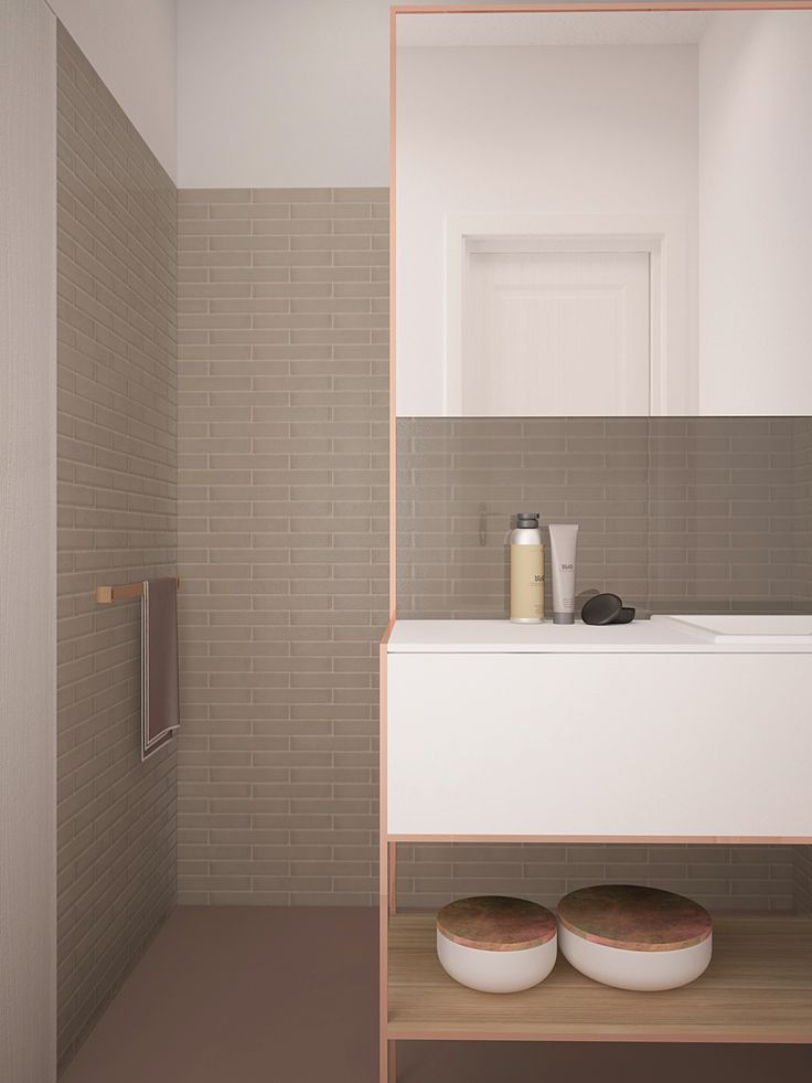 NO.2A :: BATHROOM // 6m2 // POLAND : GDYNIA