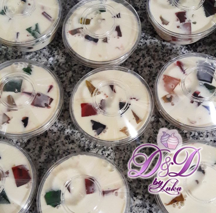 Bolo di Glas (Broken Glass Cake / Stained Glass Cake). This is one of my Mom's favorite desert. It's a simple gelatin desert, but it's delicious. It looks complicated, but it can be done by anybody.