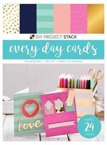 Dcwv Paper Craft Kit Every Day Cards 24ct I Like That This Is