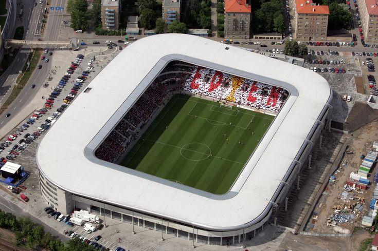Today's Eden. Shame SK Slavia currently stink.