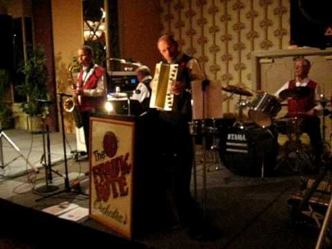 "Frank Rote Orchestra - ""We are a three piece Polka Band that performs for Oktoberfests, dances etc.. Our makeup consists of Accordion (both piano and button types), drums and tuba. We are located in Southern California, centered around the Ontario, California area. Our repertoire includes polkas, waltzes, schottisches, some 40s & 50s era music, country and latin. We can perform with or without Lederhosen. Our basic style is Bavarian / Slovenian polka type music""."