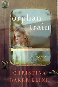 Orphan Train by Christina Baker Kline. Fictional storyline, but there's nothing fake about the orphan trains.