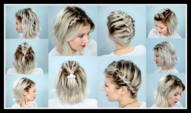 10 Εύκολες πλεξούδες για κοντά μαλλιά βήμα προς βήμα! | ediva.gr