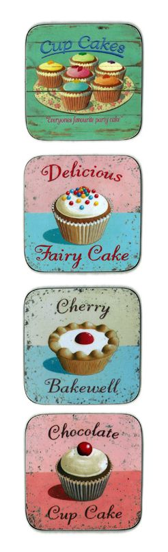 cupcake shop poster