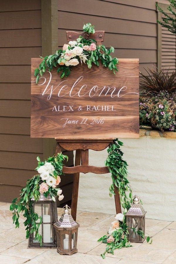 20 brillantes idées de signe de mariage pour la cérémonie et la réception