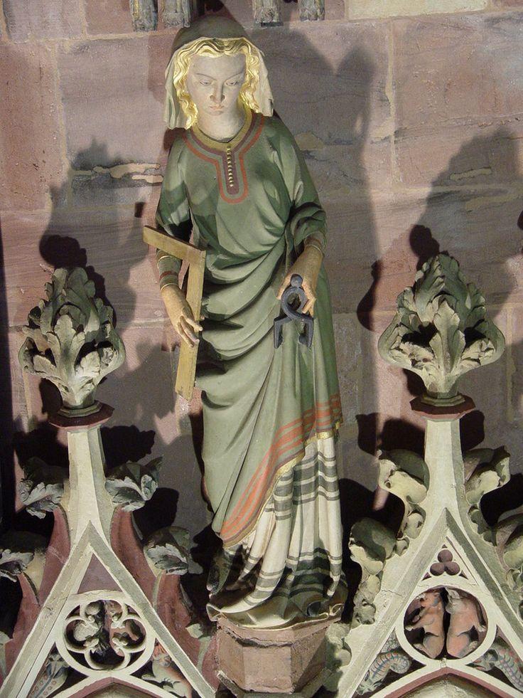 Freiburger Münster: Die freien Künste II - die Geometrie von Uli Frömming