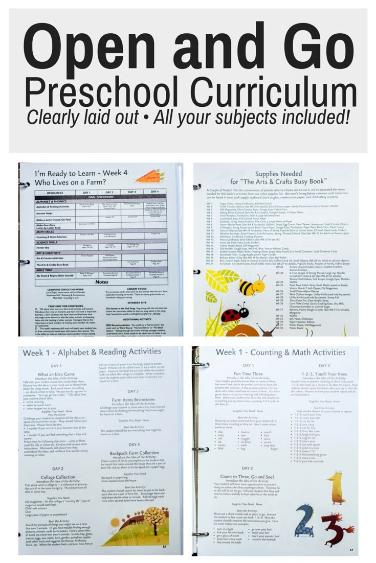 Open and Go preschool curriculum that includes ALL your subjects with no prep! This is a Charlotte Mason Inspired Preschool program that is hands on, fun, and engaging. preschool curriculum | christian preschool curriculum | preschool program | homeschooling preschool | homeschool preschool curriculum