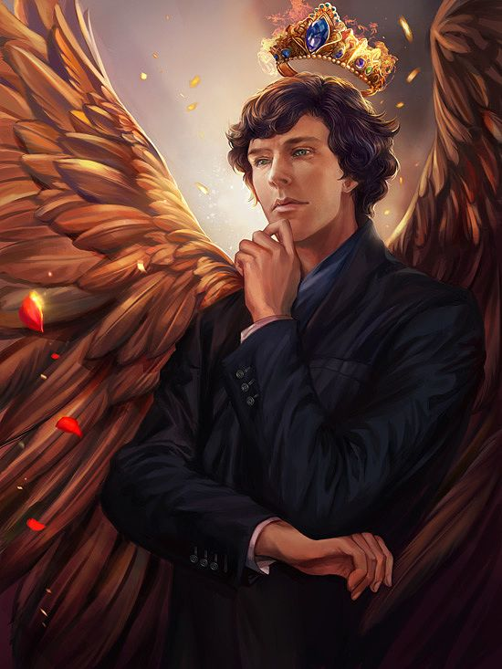 Fantasy Illustrations by Yang Fan #sherlock