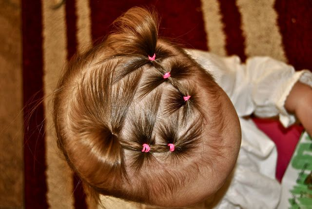15 Hairstyles for toddlers - ideas for little girls who are still growing their hair.