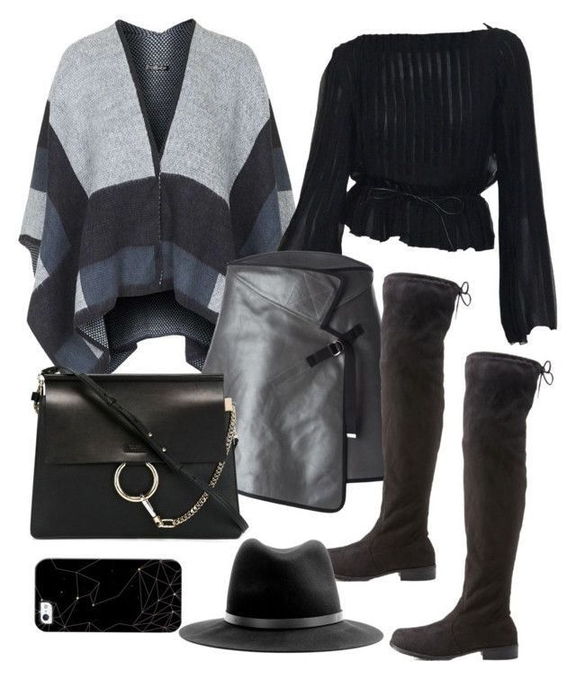"""""""Untitled #8387"""" by katgorostiza ❤ liked on Polyvore featuring Topshop, Maison Margiela, Charlotte Russe, Chloé, rag & bone and Casetify"""
