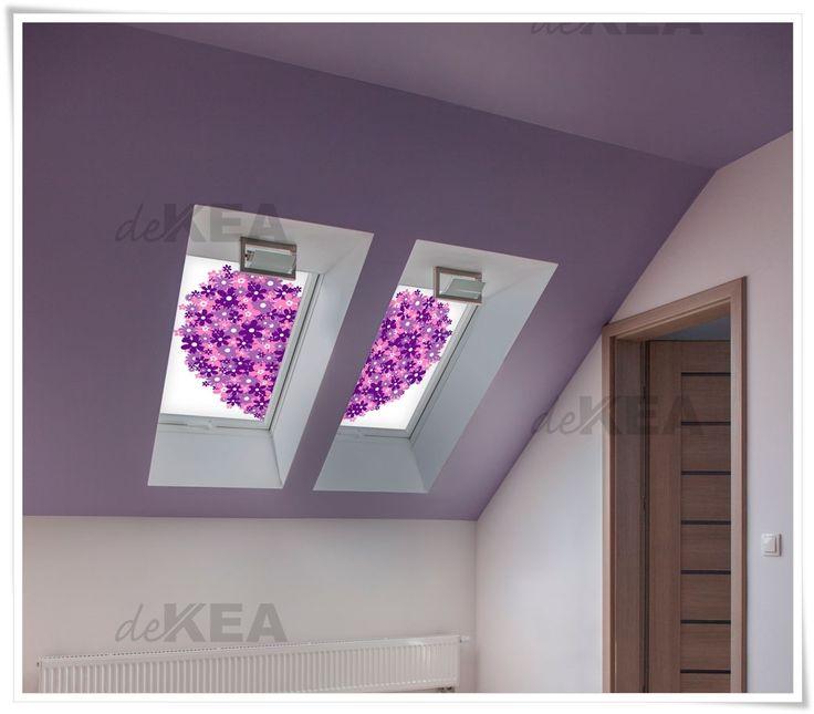 Rolety okienne dachowe do pokojów młodzieżowych. Setki wzorów do wyboru - do okien fakro, Velux, Roto, Okpol