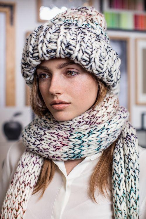 Kostenlose Strickanleitung: Mütze und Schal - Initiative Handarbeit
